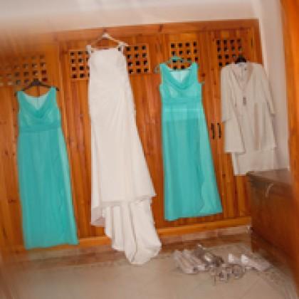 Wedding Photography Lanzarote dress